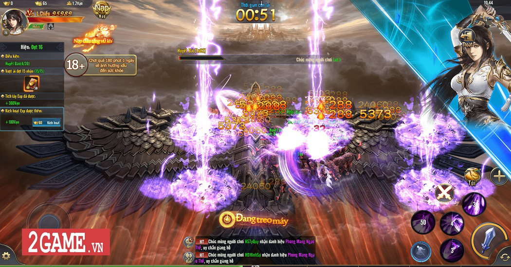 Trải nghiệm Phong Vân H5: Lối chơi nhập vai cày cuốc quen thuộc trên nền đồ họa ấn tượng 5