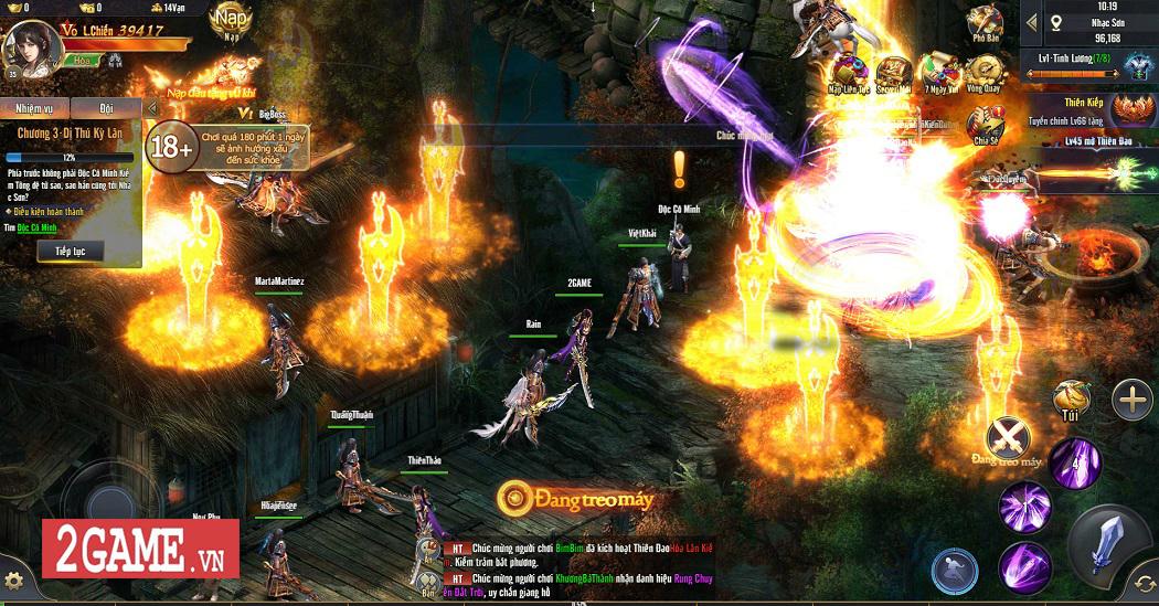 Trải nghiệm Phong Vân H5: Lối chơi nhập vai cày cuốc quen thuộc trên nền đồ họa ấn tượng 3