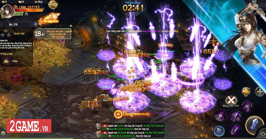 Trải nghiệm Phong Vân H5: Lối chơi nhập vai cày cuốc quen thuộc trên nền đồ họa ấn tượng 6