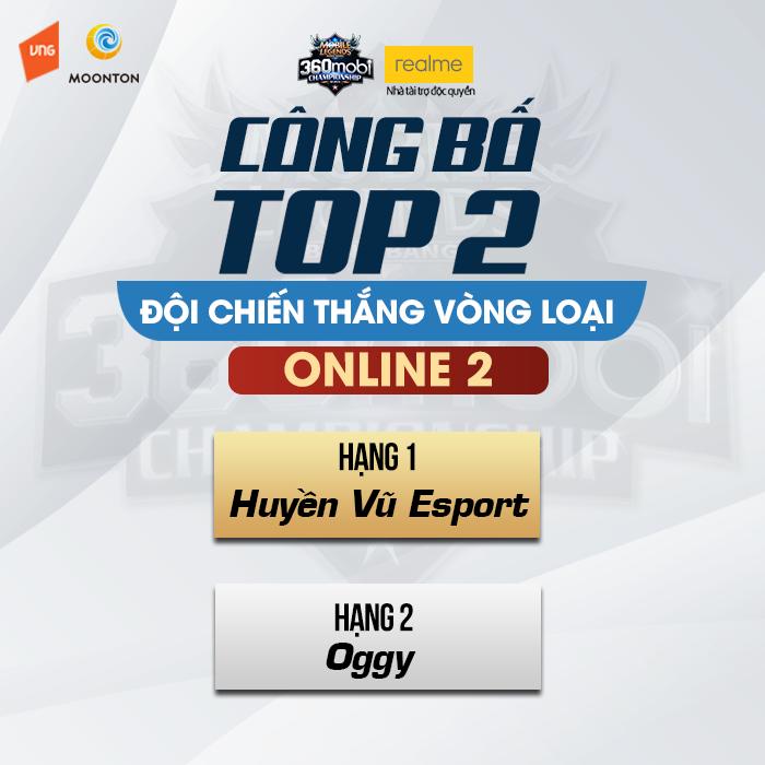 Mobile Legends: Bang Bang VNG - Huyền Vũ Esport vô địch giải đấu Vòng loại Online 2 0