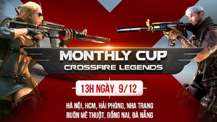 Crossfire Legends Monthly Cup được đồng loạt tổ chức trên 7 tỉnh thành cuối tuần qua 0