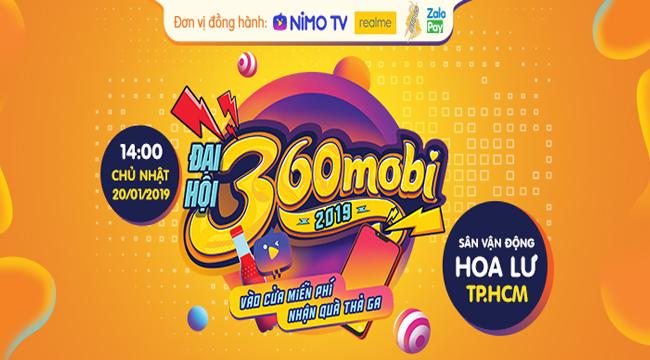 Sơn Tùng M-TP sẽ góp mặt trong Đại hội 360mobi 2019 – sự kiện lớn nhất làng game Việt