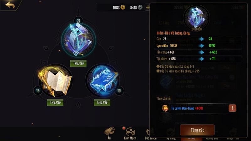 Kiếm Thế Mobile VNG: Bí kíp tăng lực chiến thần tốc của các cao thủ server 6