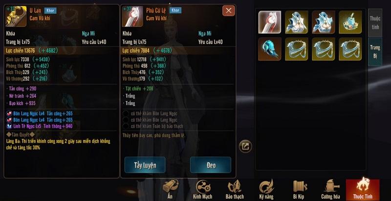 Kiếm Thế Mobile VNG: Bí kíp tăng lực chiến thần tốc của các cao thủ server 2