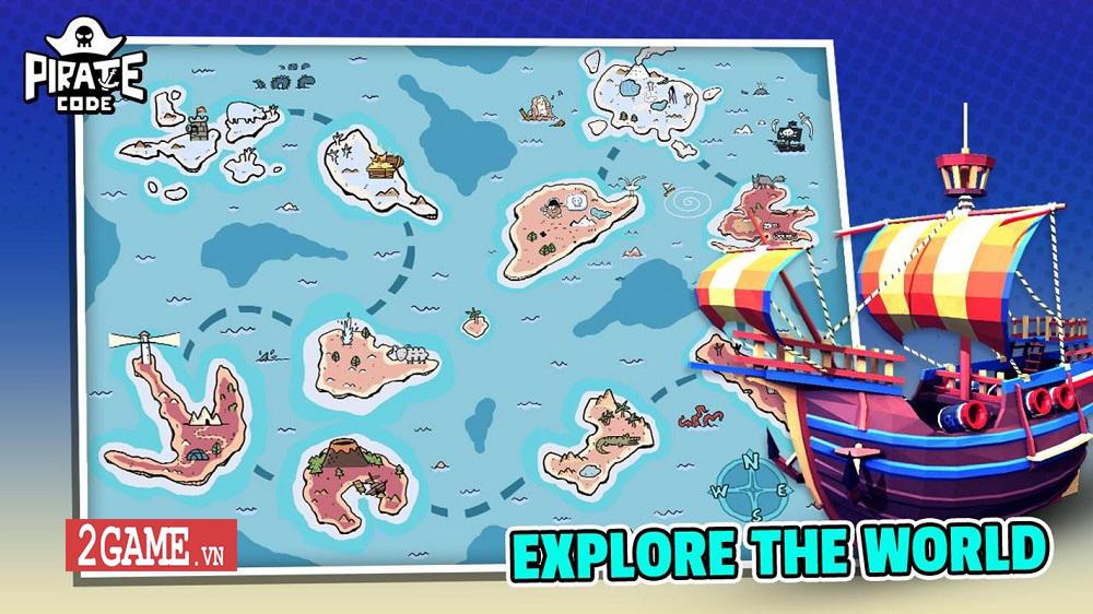 Pirate Code - Game mobile MOBA với lối chơi Hải tặc trên biển vui nhộn 3