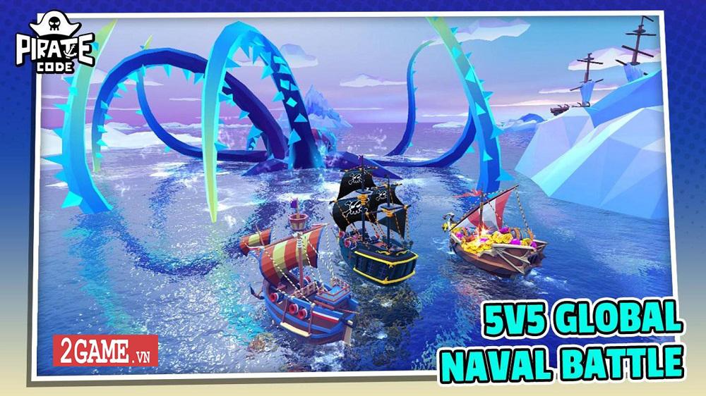 Pirate Code - Game mobile MOBA với lối chơi Hải tặc trên biển vui nhộn 0