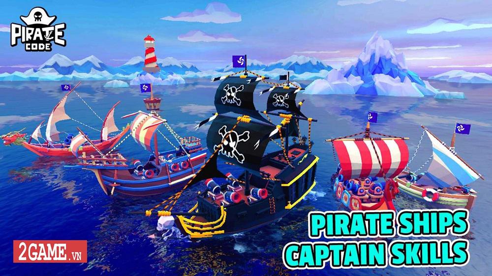 Pirate Code - Game mobile MOBA với lối chơi Hải tặc trên biển vui nhộn 2