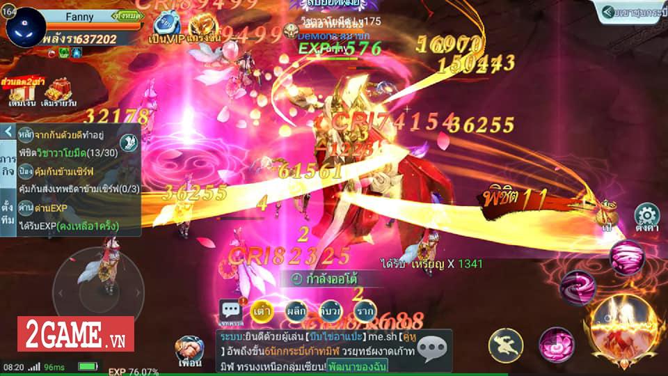 Long Chiến Thương Khung Mobile - game MMORPG 2D nhẹ nhàng, trong sáng cập bến Việt Nam 1