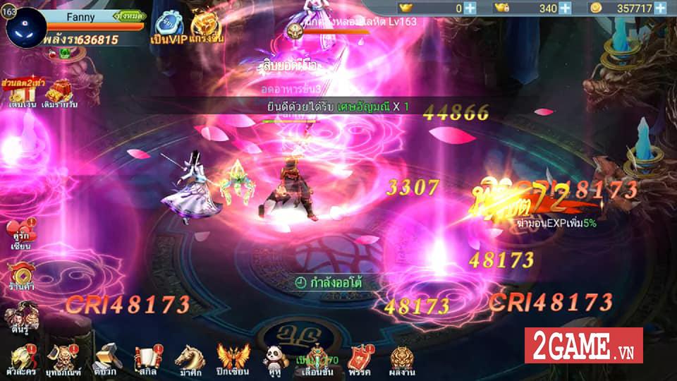 Long Chiến Thương Khung Mobile - game MMORPG 2D nhẹ nhàng, trong sáng cập bến Việt Nam 2