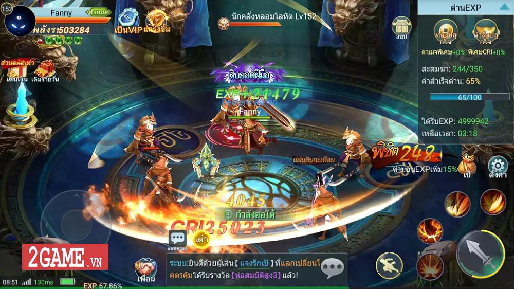 Long Chiến Thương Khung Mobile - game MMORPG 2D nhẹ nhàng, trong sáng cập bến Việt Nam 7