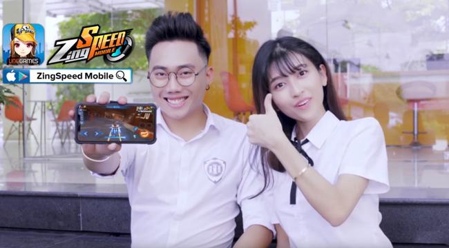 Không chỉ cộng đồng dân mê đua xe, ZingSpeed Mobile còn thu hút hàng loạt hotboy, hotgirl Việt