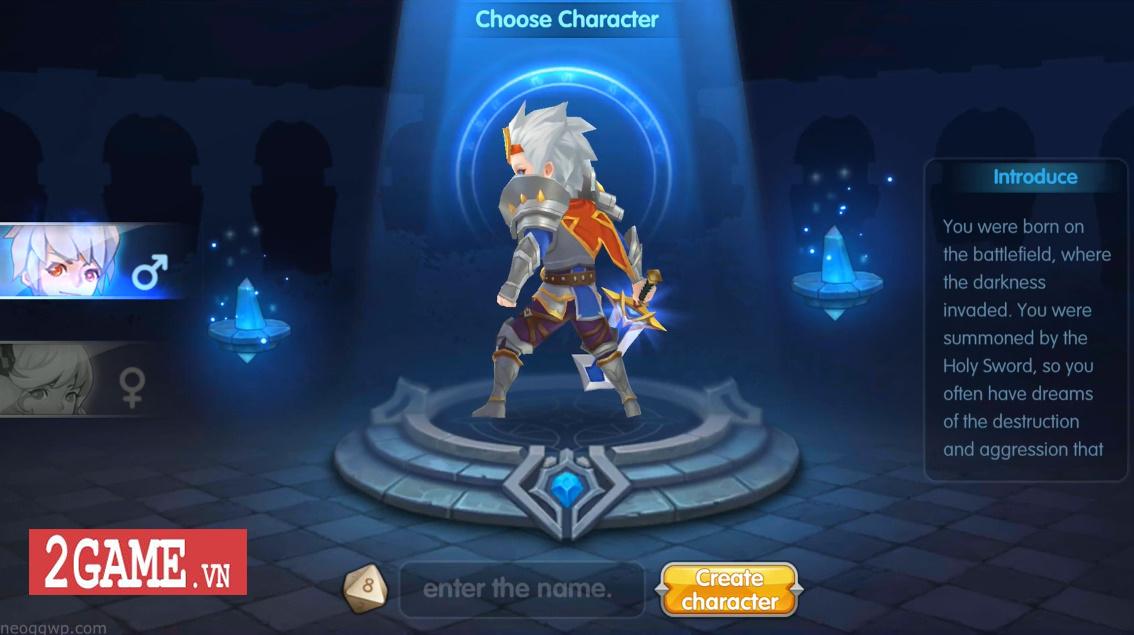 Elf Legend - Game nhập vai đánh theo lượt cho phép biến Rồng khi chiến đấu 0