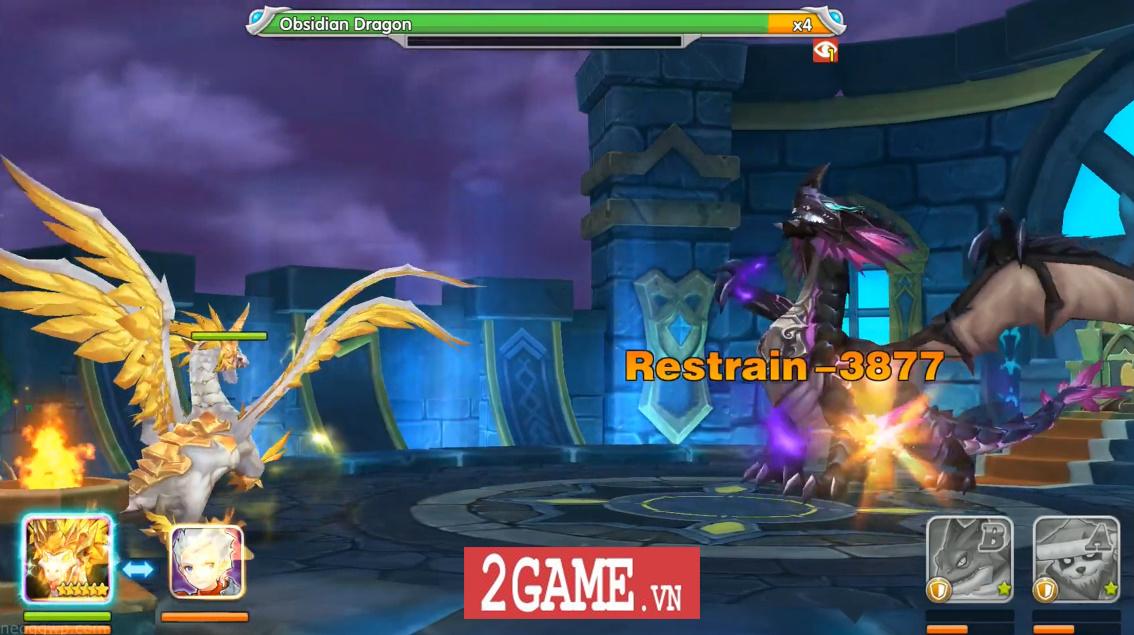 Elf Legend - Game nhập vai đánh theo lượt cho phép biến Rồng khi chiến đấu 6