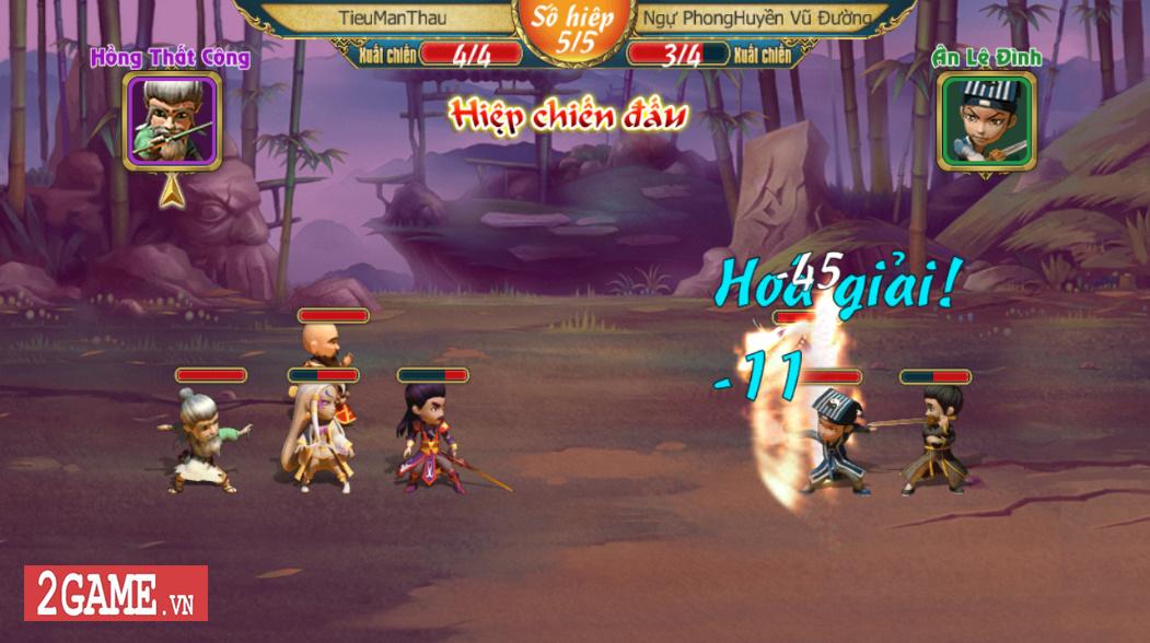 Vua Kiếm Hiệp - Tân Chưởng Môn: Tựa game đấu thẻ tướng ra đời cùng thời Summoners War, Boom Beach về Việt Nam 1