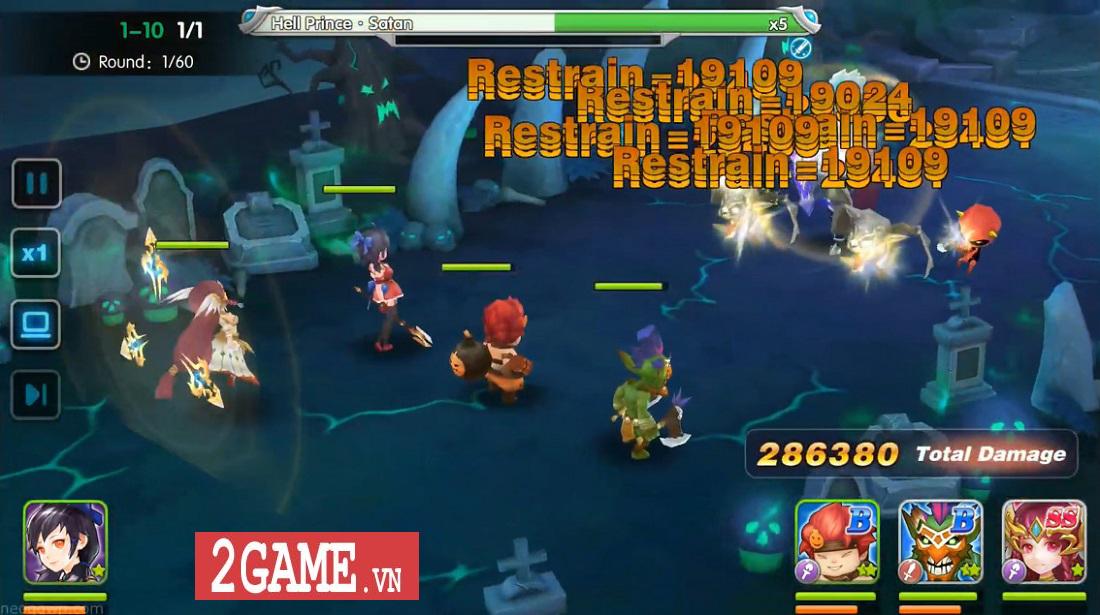 Elf Legend - Game nhập vai đánh theo lượt cho phép biến Rồng khi chiến đấu 8