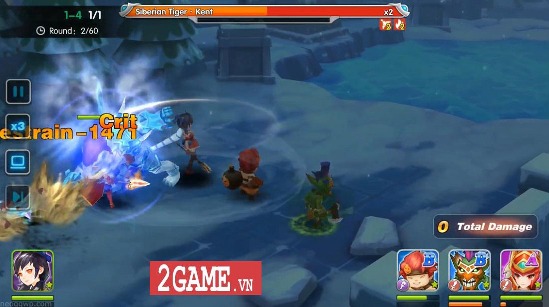 Elf Legend - Game nhập vai đánh theo lượt cho phép biến Rồng khi chiến đấu 7