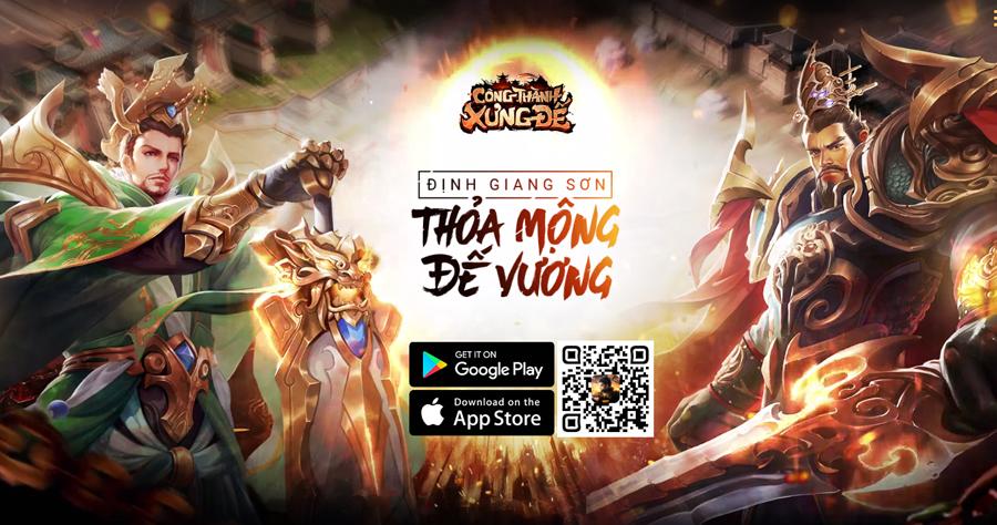 Công Thành Xưng Đế Mobile - Thêm một game chiến thuật điều binh khiển tướng nữa cập bến Việt Nam 1