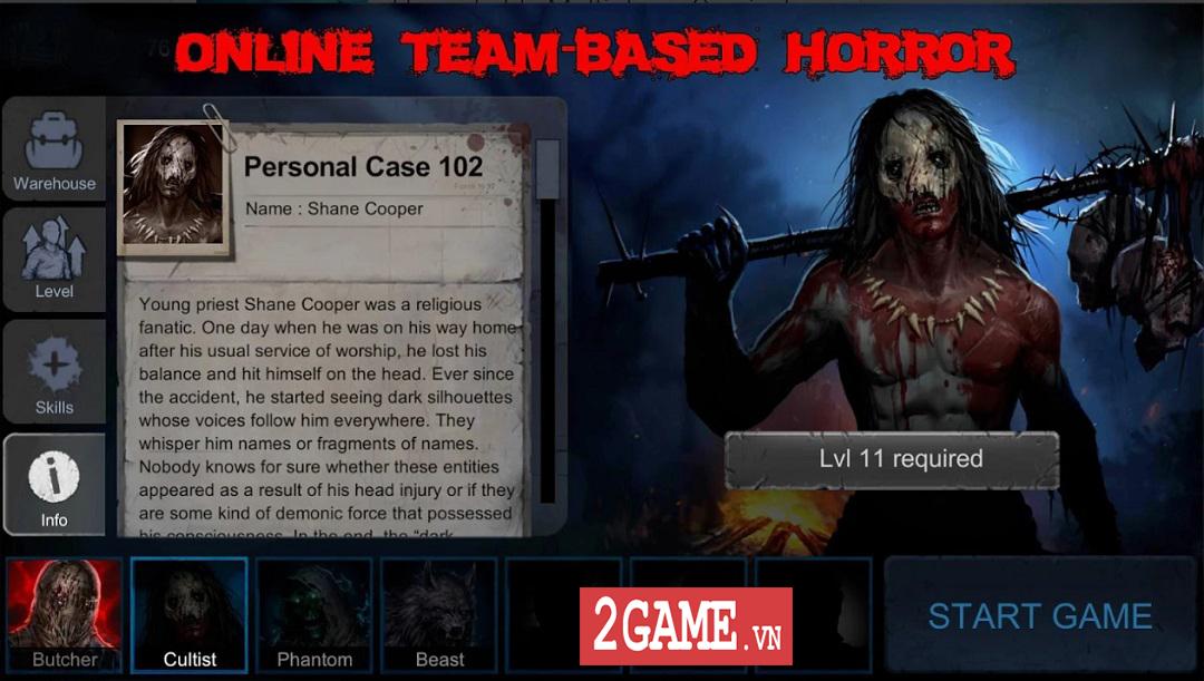 Horrorfield - Một phiên bản khác của Identity V được thiết kế theo kiểu isometric 0