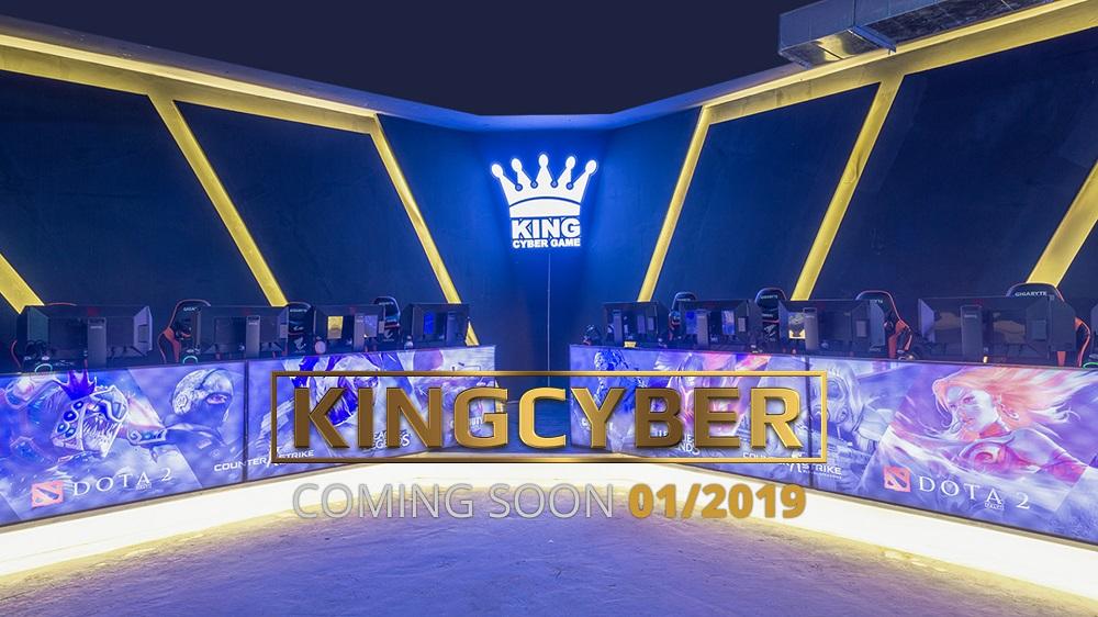 Phòng game KingCyber khủng nhất Hà Nội sẽ chính thức mở cửa vào Chủ Nhật này! 0