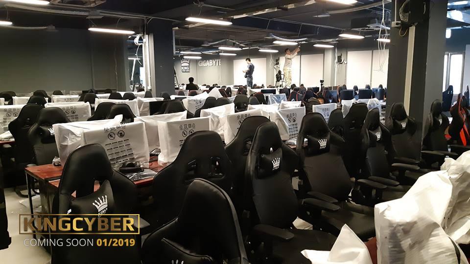 Phòng game KingCyber khủng nhất Hà Nội sẽ chính thức mở cửa vào Chủ Nhật này! 1