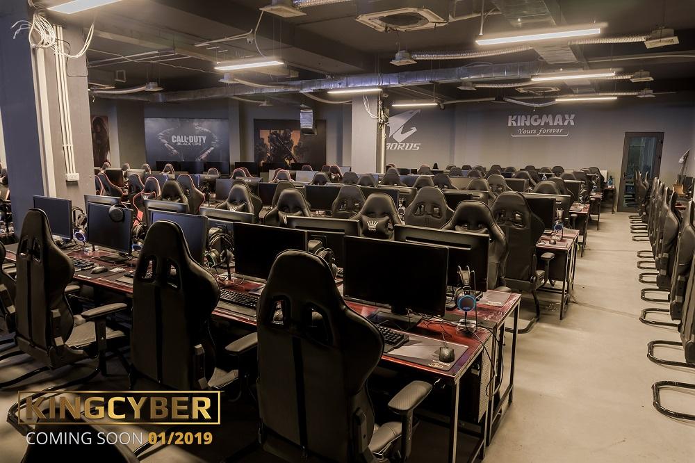 Phòng game KingCyber khủng nhất Hà Nội sẽ chính thức mở cửa vào Chủ Nhật này! 5