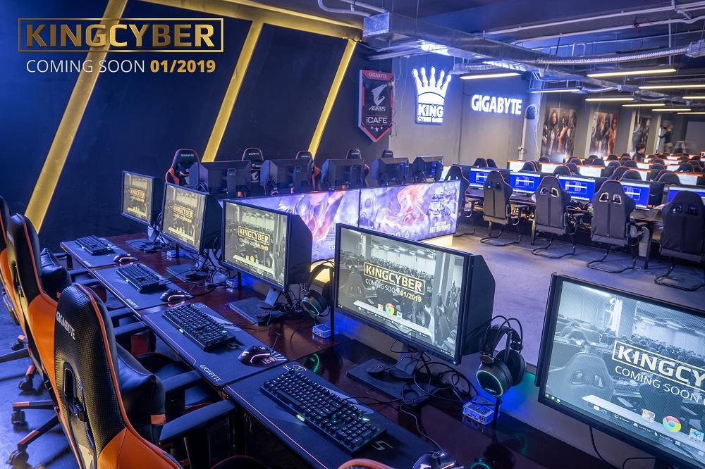 Phòng game KingCyber khủng nhất Hà Nội sẽ chính thức mở cửa vào Chủ Nhật này! 2