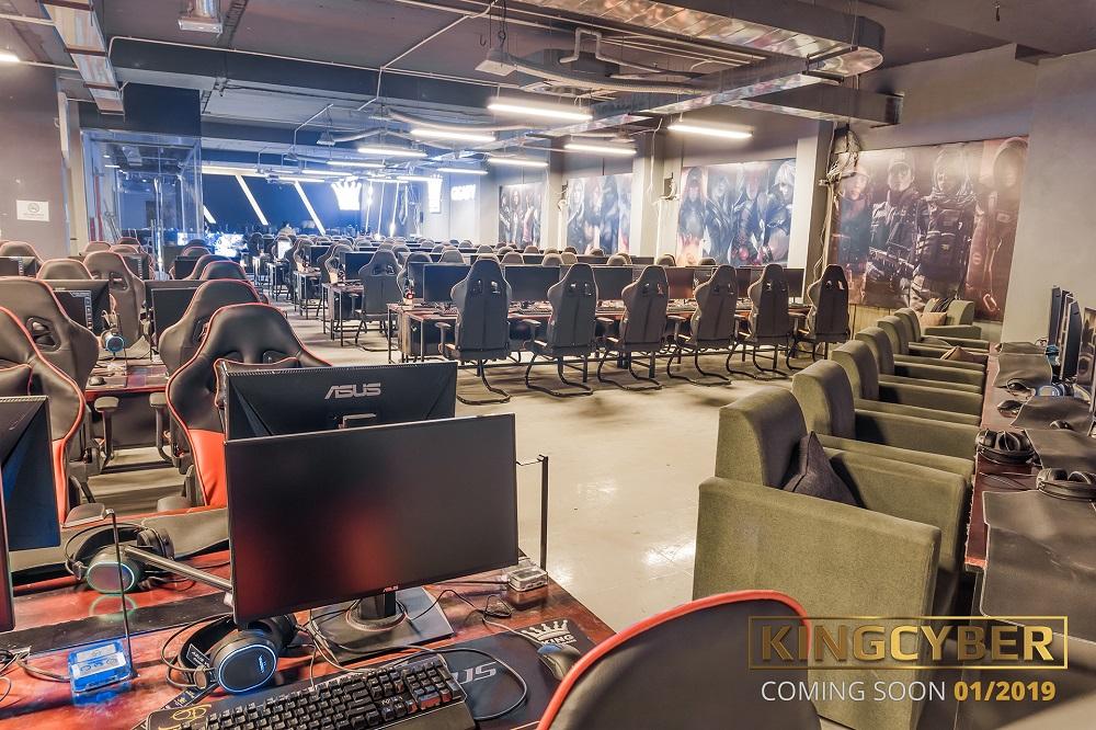 Phòng game KingCyber khủng nhất Hà Nội sẽ chính thức mở cửa vào Chủ Nhật này! 7