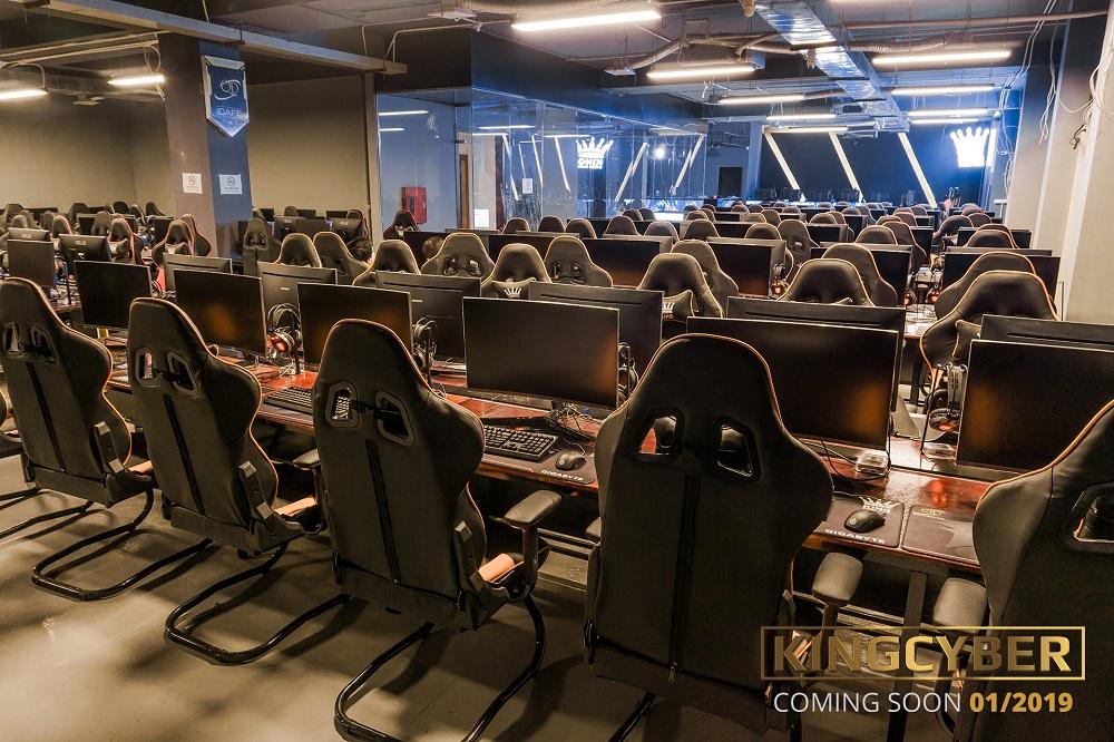 Phòng game KingCyber khủng nhất Hà Nội sẽ chính thức mở cửa vào Chủ Nhật này! 4