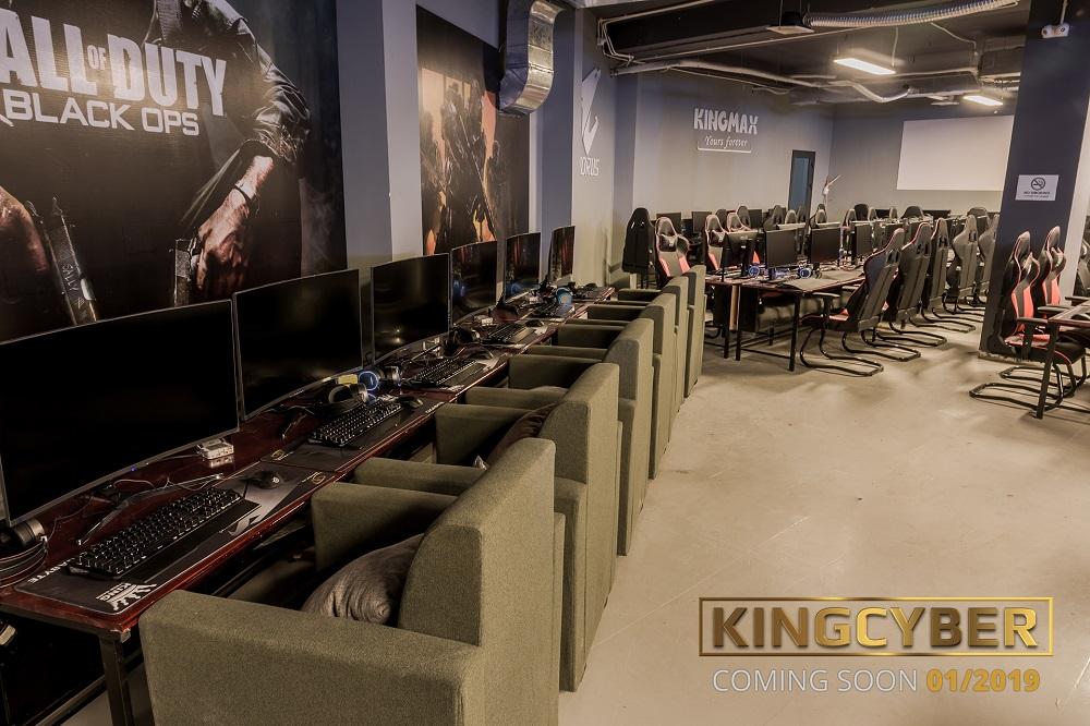 Phòng game KingCyber khủng nhất Hà Nội sẽ chính thức mở cửa vào Chủ Nhật này! 8