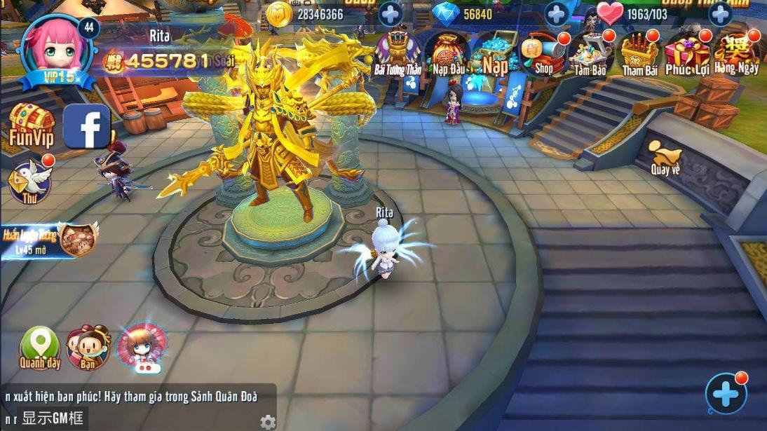 Thần Long 3Q Mobile mang đến một thế giới Tam Quốc vô cùng tươi trẻ 4