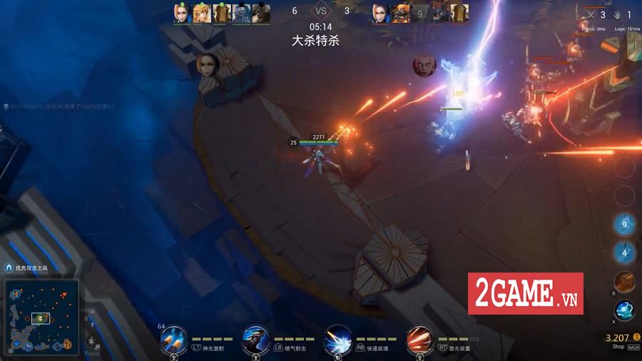 Genesis - Tựa game MOBA PC khiến người chơi liên tưởng đến Vainglory 1