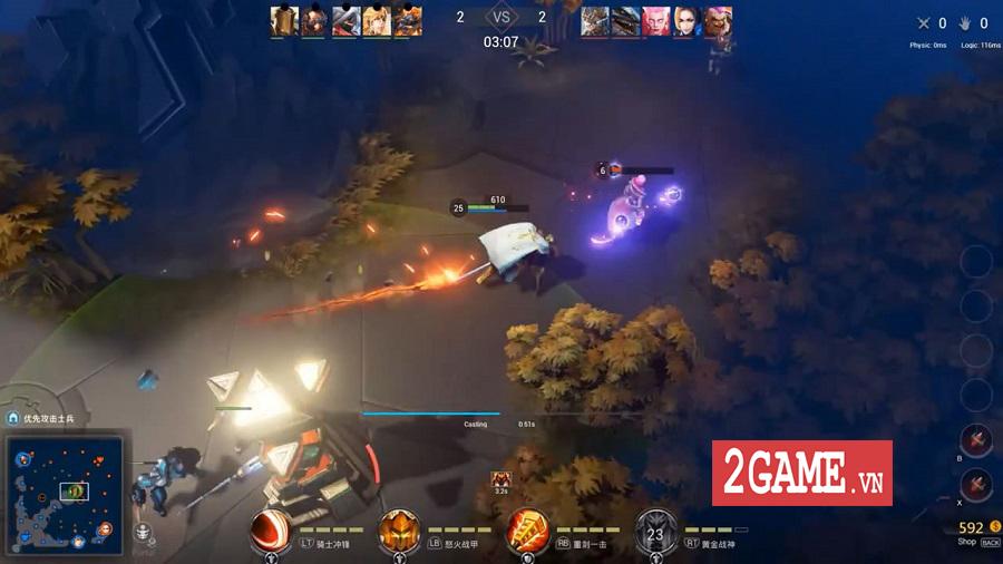 Genesis - Tựa game MOBA PC khiến người chơi liên tưởng đến Vainglory 0