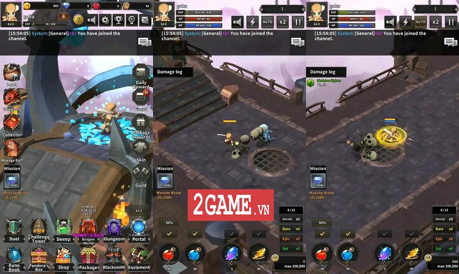 Top 6 game mobile màn hình dọc hay ho đáng để bạn trải nghiệm 2