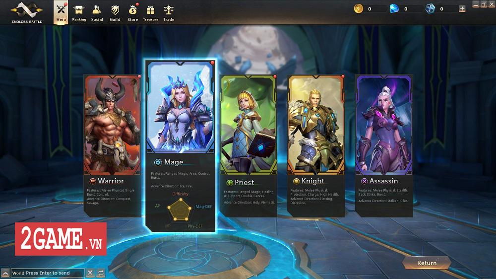 Endless Battle - Sự kết hợp độc đáo giữa lối chơi MOBA và dàn kĩ năng tùy biến của MMORPG 4