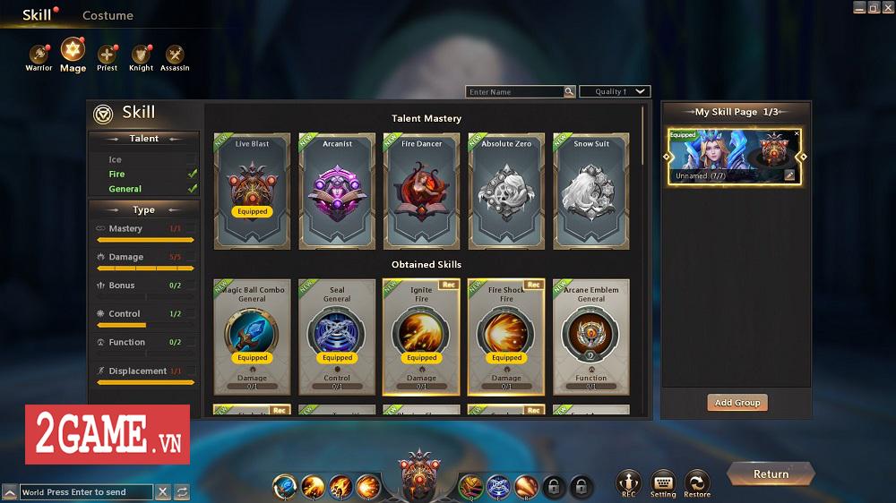 Endless Battle - Sự kết hợp độc đáo giữa lối chơi MOBA và dàn kĩ năng tùy biến của MMORPG 6