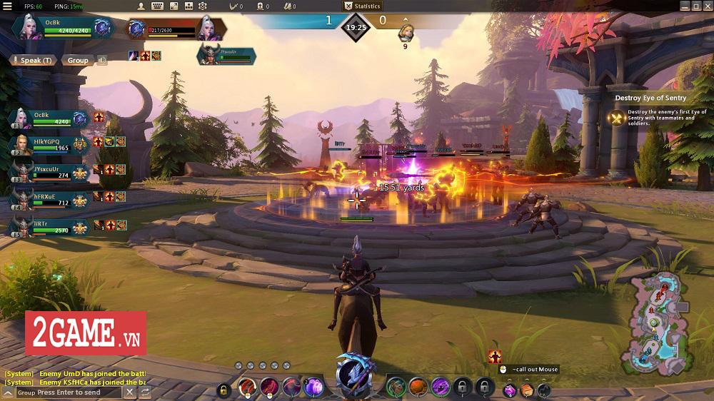 Endless Battle - Sự kết hợp độc đáo giữa lối chơi MOBA và dàn kĩ năng tùy biến của MMORPG 2