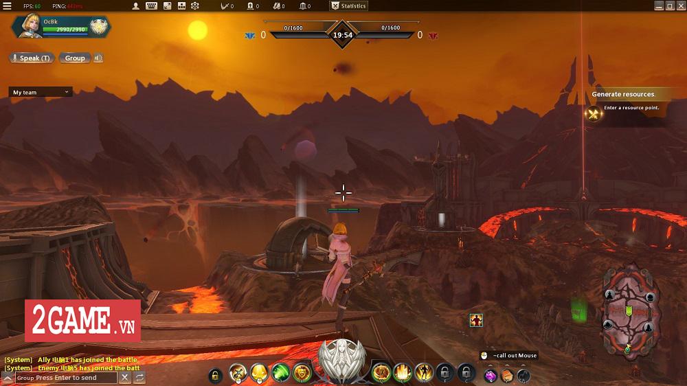Endless Battle - Sự kết hợp độc đáo giữa lối chơi MOBA và dàn kĩ năng tùy biến của MMORPG 1