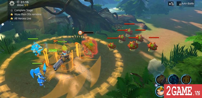 Sins Raid - Game nhập vai chiến thuật với cơ chế điều khiển vô cùng sáng tạo 6