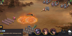 Cảm nhận Công Thành Xưng Đế Mobile: Lối chơi chiến thuật đơn giản nhưng chuyên sâu