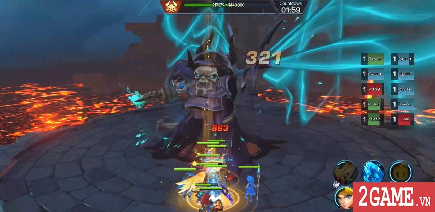 Sins Raid - Game nhập vai chiến thuật với cơ chế điều khiển vô cùng sáng tạo 2