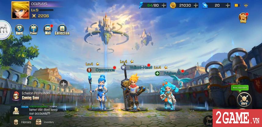 Sins Raid - Game nhập vai chiến thuật với cơ chế điều khiển vô cùng sáng tạo 1