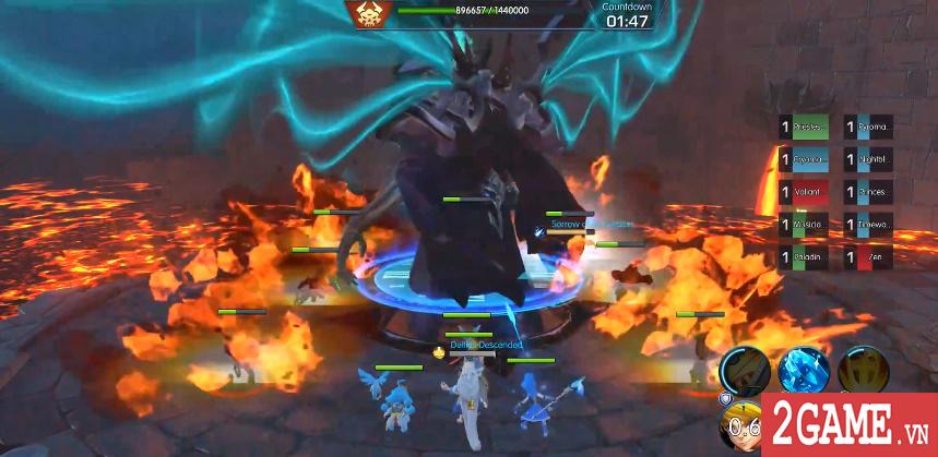 Sins Raid - Game nhập vai chiến thuật với cơ chế điều khiển vô cùng sáng tạo 3