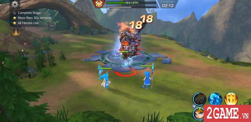 Sins Raid - Game nhập vai chiến thuật với cơ chế điều khiển vô cùng sáng tạo 7