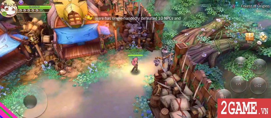 Siêu phẩm game nhập vai phong cách anime Laplace M ra mắt bản tiếng Anh 2