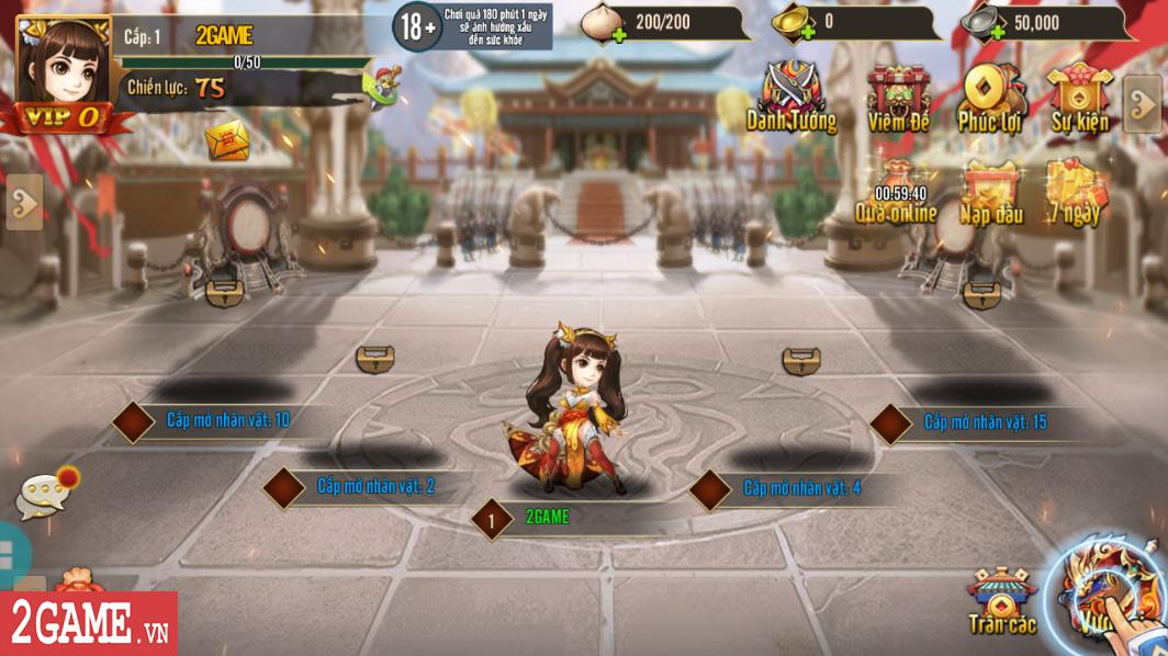Trải nghiệm Rồng 3Q Mobile: Lối chơi thẻ tướng quen thuộc trên nền đồ họa phong cách chibi hiện đại 12