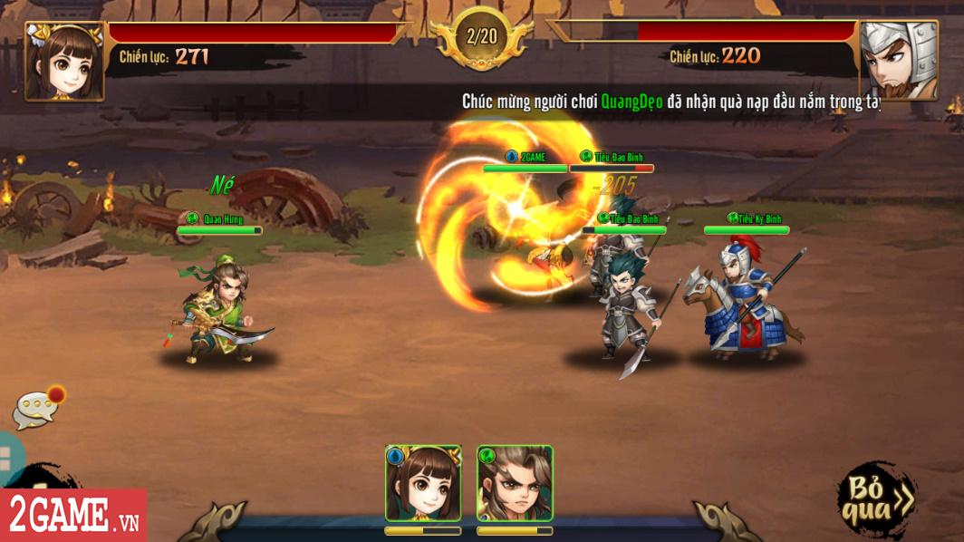 Trải nghiệm Rồng 3Q Mobile: Lối chơi thẻ tướng quen thuộc trên nền đồ họa phong cách chibi hiện đại 0