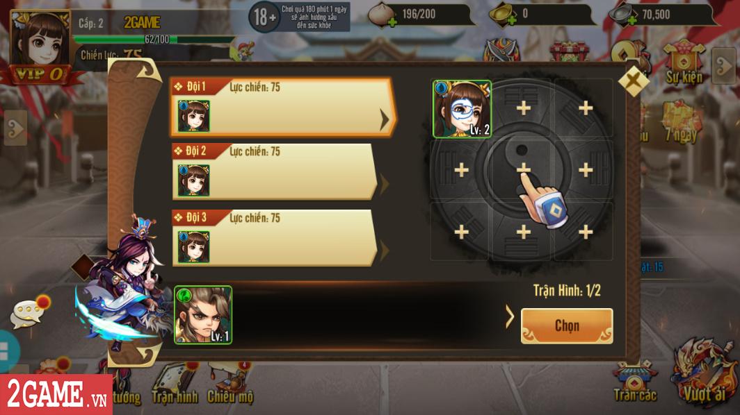 Trải nghiệm Rồng 3Q Mobile: Lối chơi thẻ tướng quen thuộc trên nền đồ họa phong cách chibi hiện đại 15