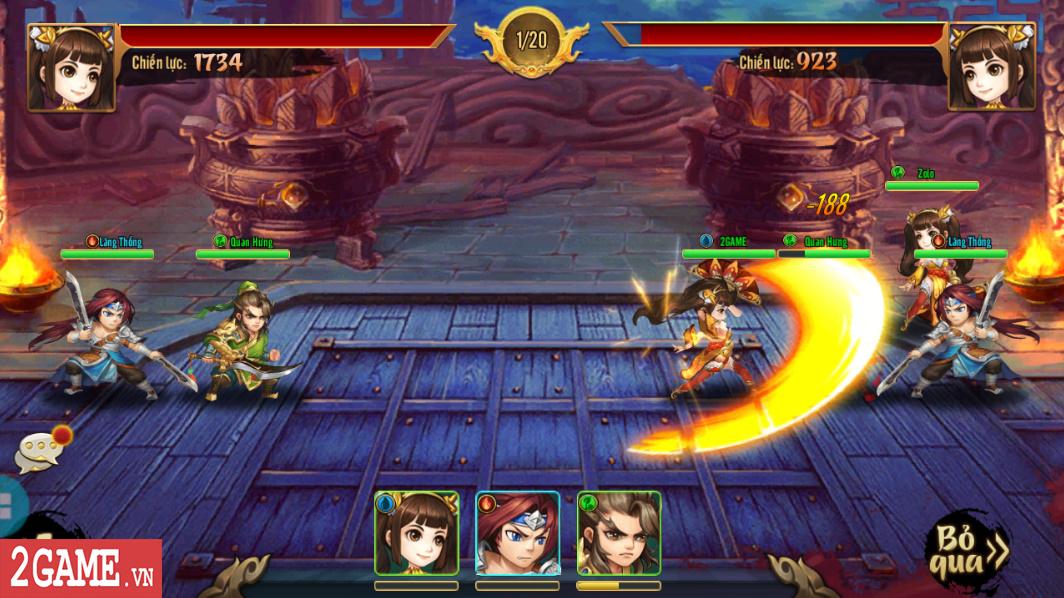 Trải nghiệm Rồng 3Q Mobile: Lối chơi thẻ tướng quen thuộc trên nền đồ họa phong cách chibi hiện đại 14