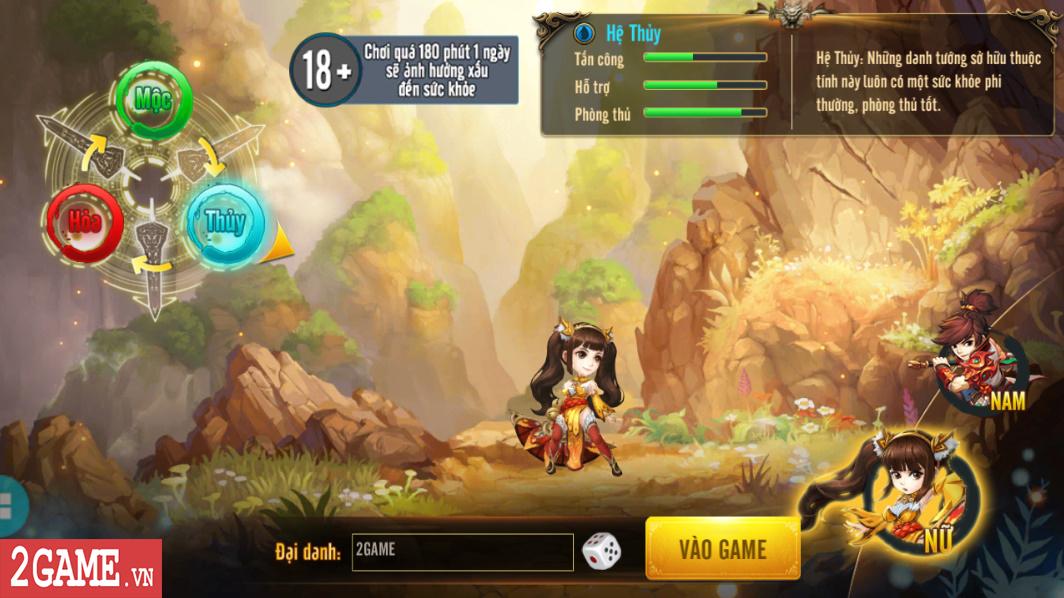 Trải nghiệm Rồng 3Q Mobile: Lối chơi thẻ tướng quen thuộc trên nền đồ họa phong cách chibi hiện đại 1