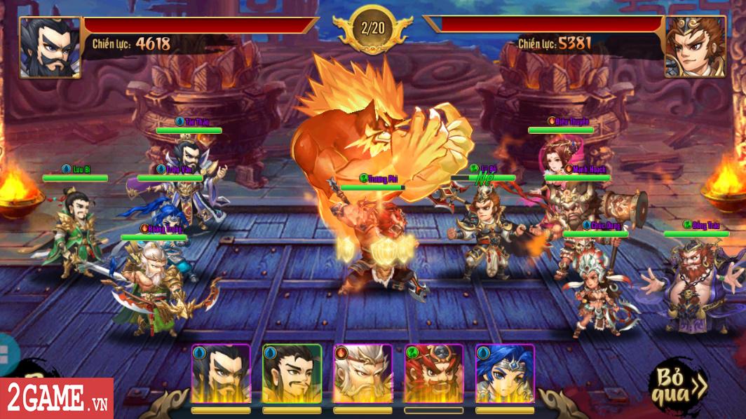 Trải nghiệm Rồng 3Q Mobile: Lối chơi thẻ tướng quen thuộc trên nền đồ họa phong cách chibi hiện đại 2